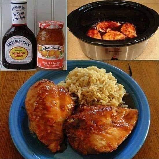 Easy Crockpot Orange Chicken