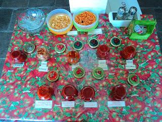 Molhos de Tomate, na Casa do Tomate
