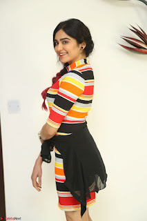 Adha Sharma in a Cute Colorful Jumpsuit Styled By Manasi Aggarwal Promoting movie Commando 2 (170).JPG