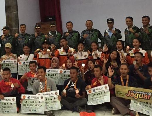 Ketua Umum KOMI : Kejurnas Orienteering Untuk Mendapatkan Atlet Terbaik di Jajaran TNI