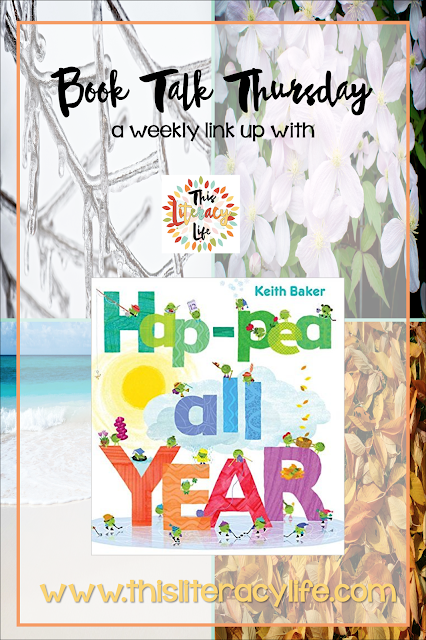 The Peas are ready to tell us all about each month in the fun book Hap-Pea All Year.