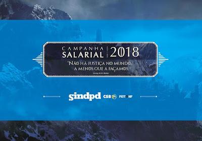 Compareça às assembleias de pauta da Campanha Salarial 2018!