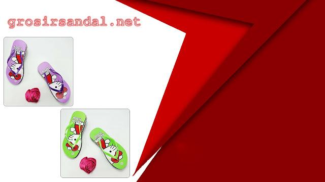 Sandal wedges karakter anak tg | size 31-35 | motif helloktty