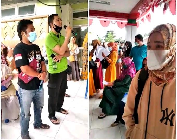 Kapolsek Manggelewa Pantau Hari Pertama Pelaksanaan RTAG Calon PPPK di Puskesmas Soriutu