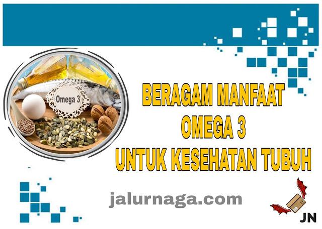 Beragam Manfaaf Omega-3 untuk Kesehatan Tubuh