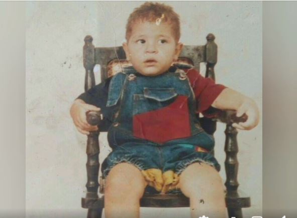 Madger Biron Ferreira Oliveira na sua infancia