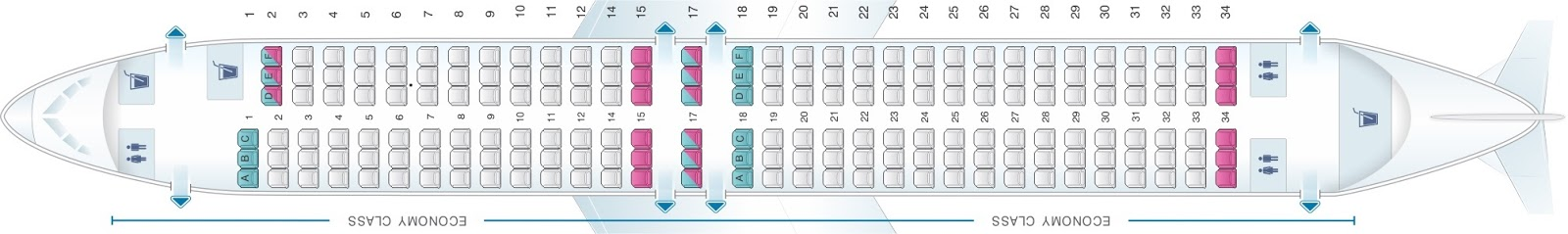Sunexpress sitzplan. boeing 737 800 sunexpress sitzplan