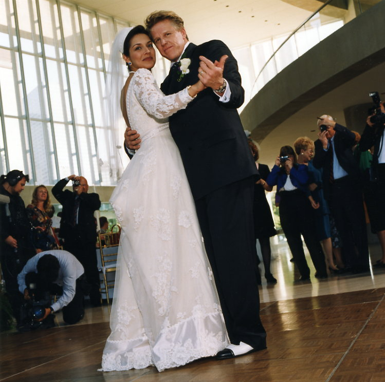 Michael Clements Gary Busey and Tiani Warden Wedding