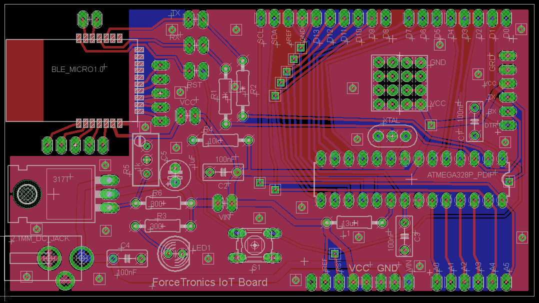 ForceTronics: Building Your Own AVR / Arduino Internet of