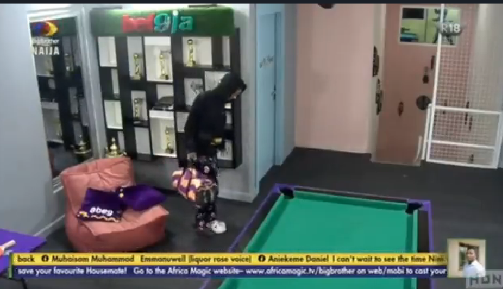 BBNaija: In case you missed the moment Nini returned to the house, watchthe video here