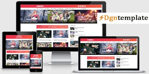 Animo Responsive Blogger Template-dgntemplate