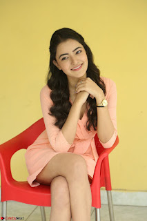Rukshar Mir in a Peachy Deep Neck Short Dress 098.JPG