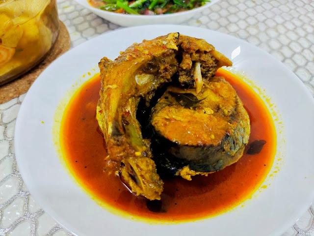 Ikan Mayong Masak Kari Pun Sedap