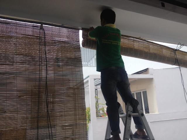 Lắp đặt trọn gói mành tre trúc ở quận 2