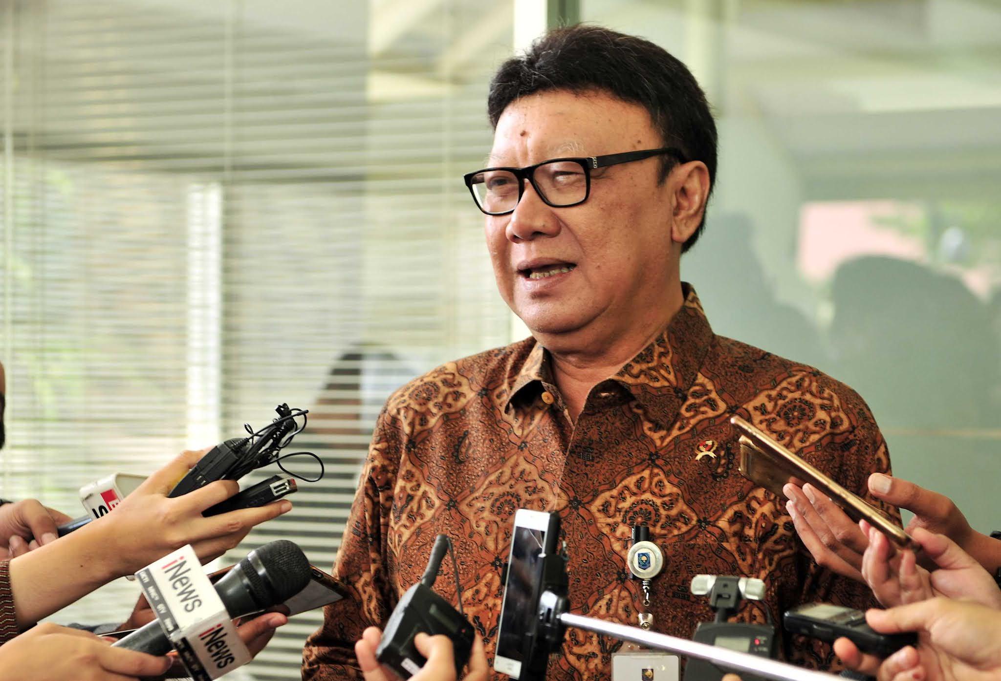 Tjahjo Kumolo: Anggaran untuk Covid Setara Bangun Dua Ibu Kota