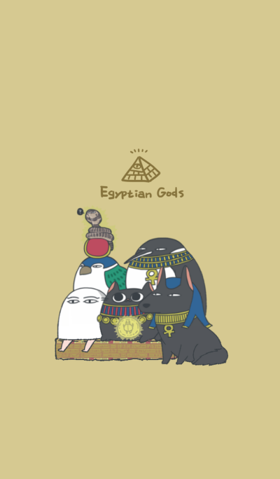 Egyptian god friends