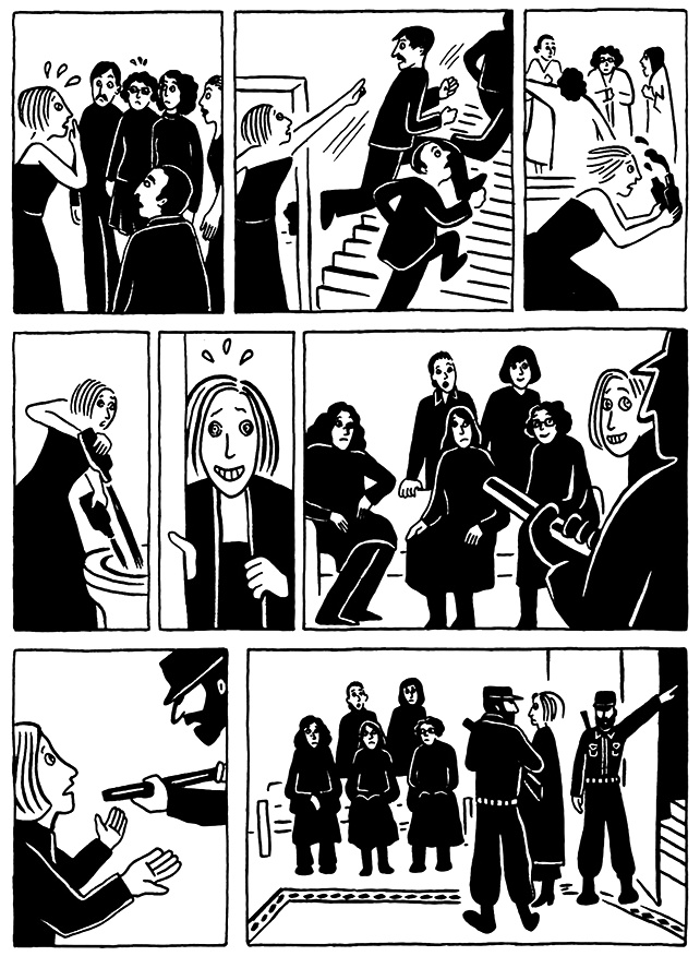 Read Chapter 16 - The Socks, page 154, from Marjane Satrapi's Persepolis 2 - The Story of a Return