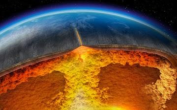 Supervulcão encontrado debaixo de estação naval de armas aéreas, cheio de 240 milhas cúbicas de magma