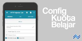 Config Kuota Belajar Telkomsel/By.U HTTP Injector Lite Update Oktober 2020