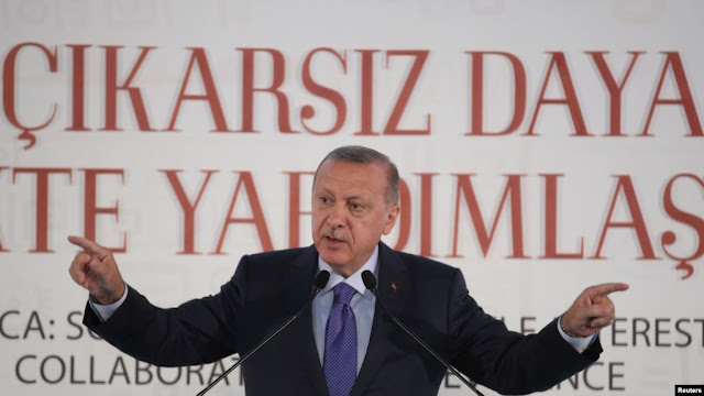 Erdogan tehdîd dike ku serê Kurdan Qotke