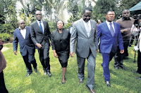 RAILA ODINGA sends signals that he may participate in the October 26th poll against UHURU/ RUTO
