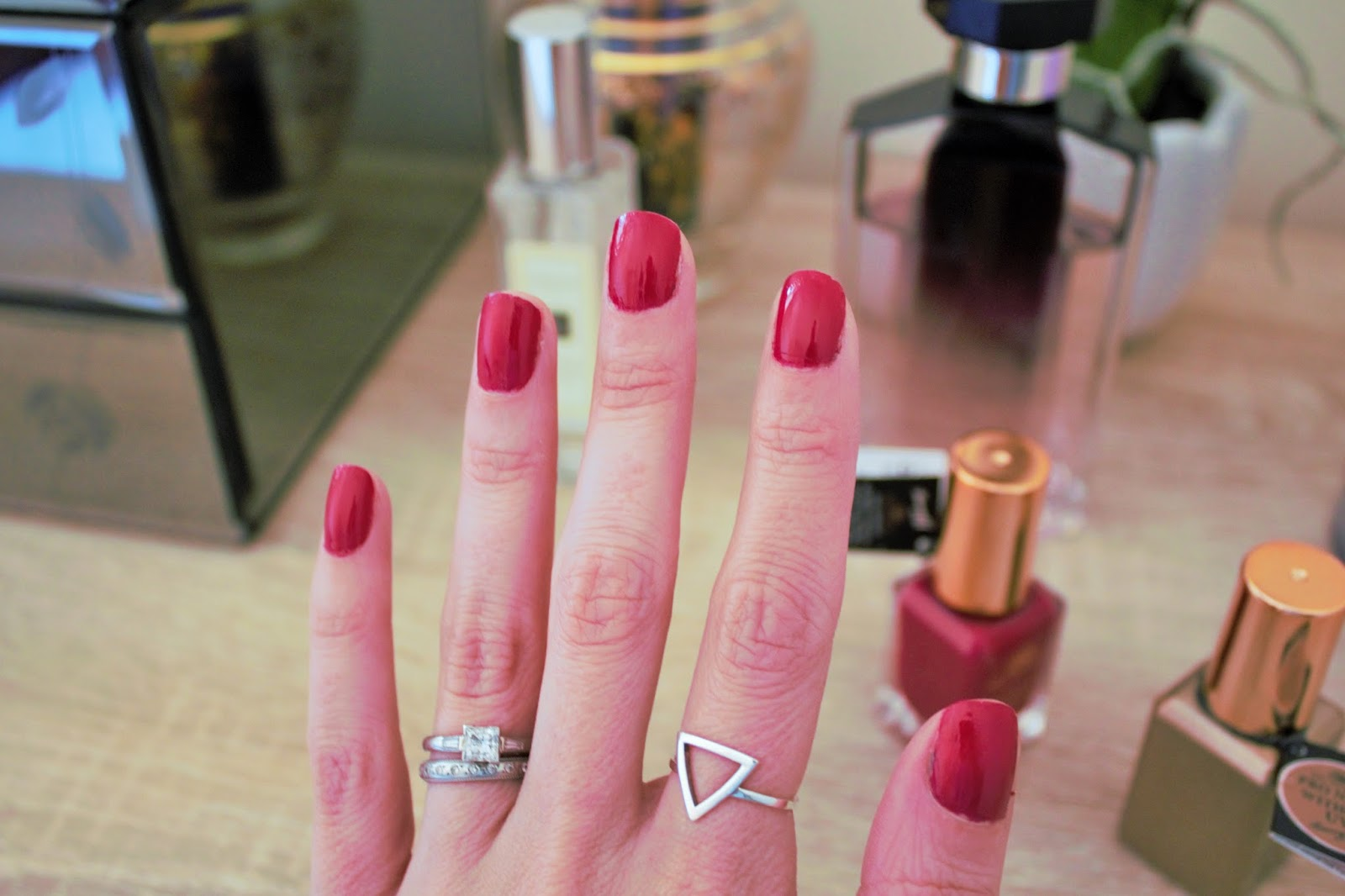 Barry M Sunset Daylight Curing Nail Paint in Fuchsia Generation