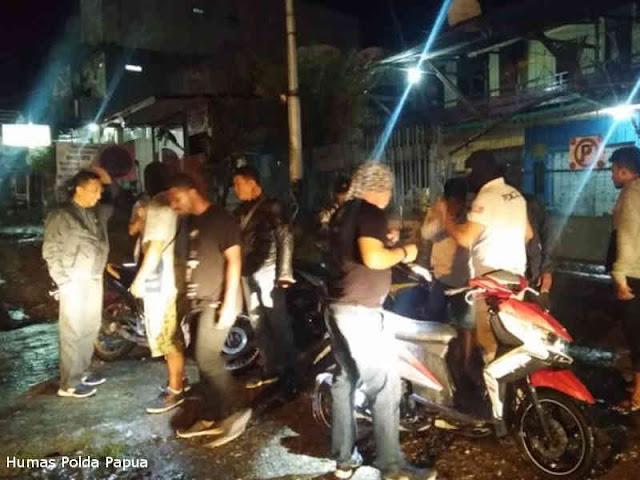 Gelar Pengamanan Pasca Pelantikan Gubernur, Polisi Razia di Abepura dan Waena