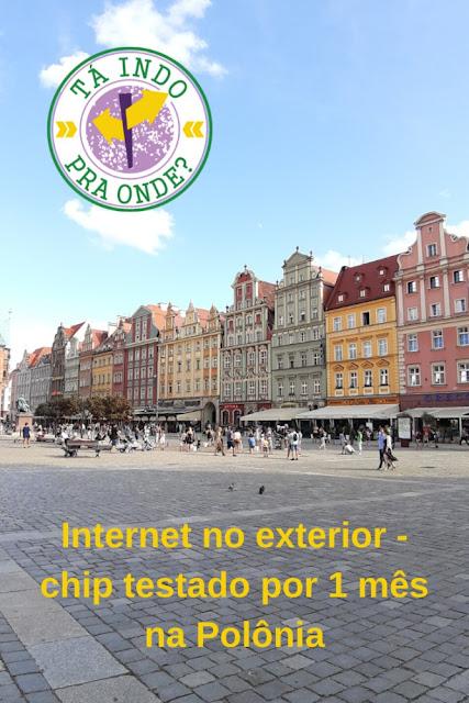 Internet no exterior - Chip de celular para Alemanha, República Tcheca e Polônia