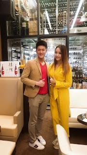 Alaric Ong with Nicole Chen, International DJ