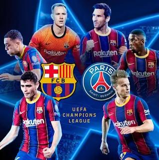 Barcelona vs Paris Saint-Germain Live