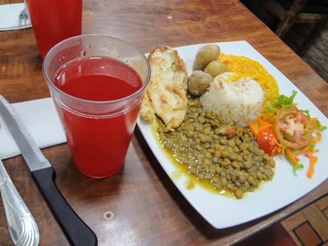 コロンビアの食事