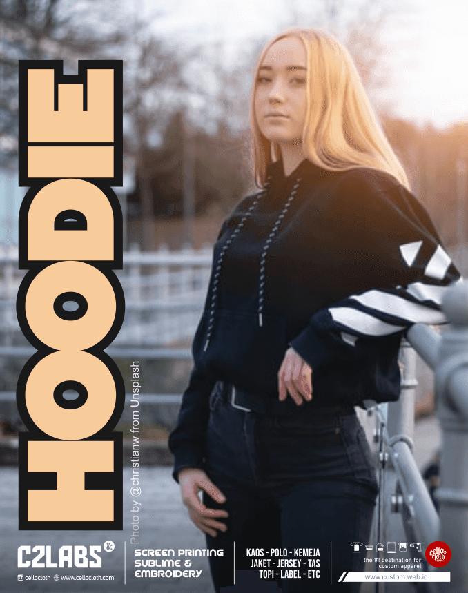 Hoodie Sablon Plastisol Custom Hoodie Kelas Hoodie Komunitas - Sablon Jogja