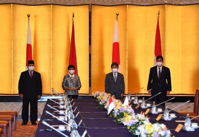 RI dan Jepang Tandatangani Perjanjian Pengalihan Alat dan Teknologi Pertahanan