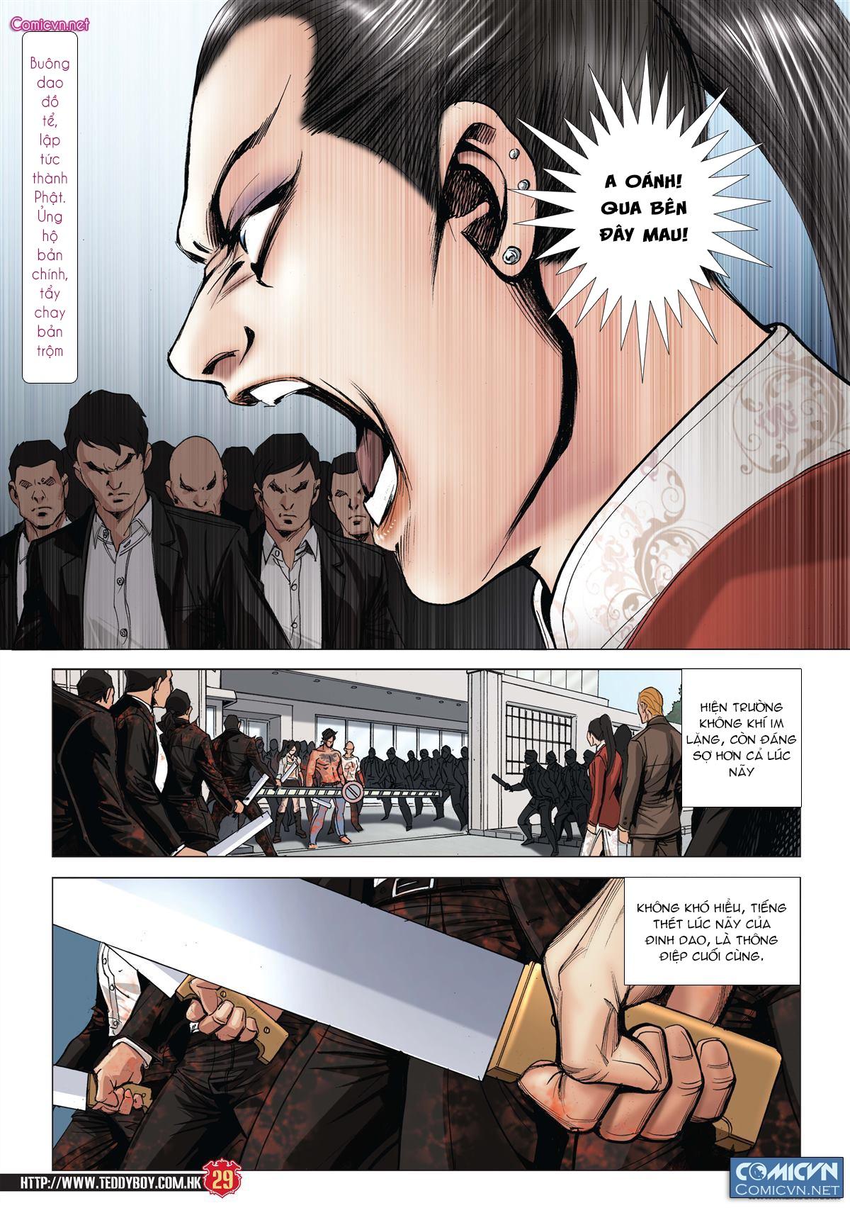 Người Trong Giang Hồ chapter 1997: triệu oánh vs đinh dao trang 27