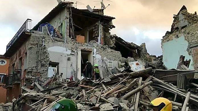 Il terremoto del 24 agosto 2016 che colpì Amatrice