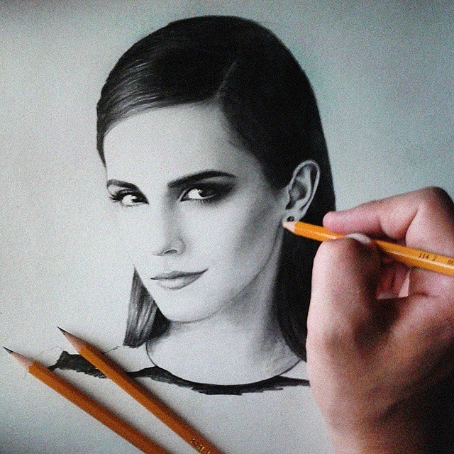 09-Emma-Watson-Marat-Utamuratov-Realistic-and-Detailed-Pencil-Portrait-Drawings-www-designstack-co
