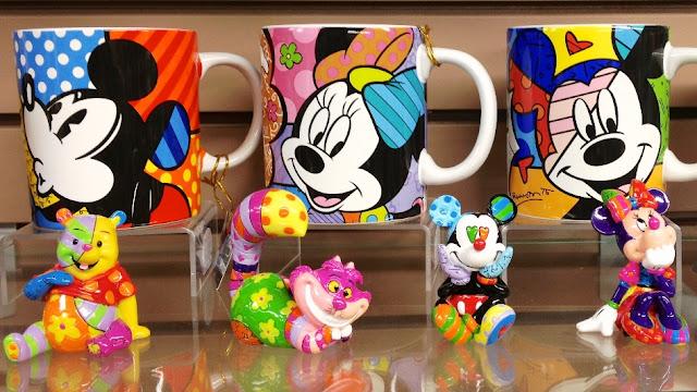 Conheça a arte de Romero Britto na Disney