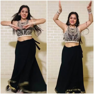 "Deepika Singh performed an amazing dance on ""kitana sona"" song in Lockdown"