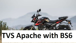 TVS Apache with BS6