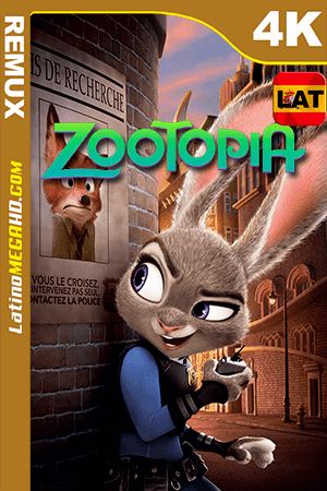 Zootopia (2016) Latino HDR Ultra HD BDRemux 2160P ()