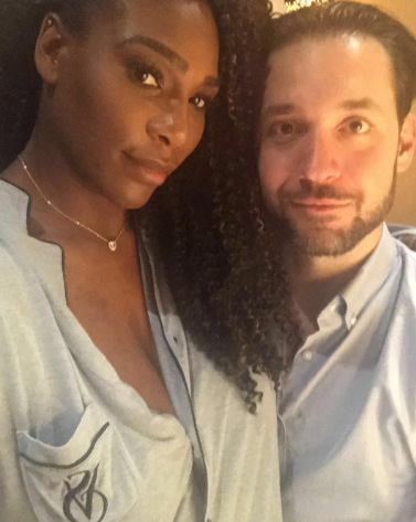 Serena Williams glows in new photo as she returns to social media after welcoming her daughter