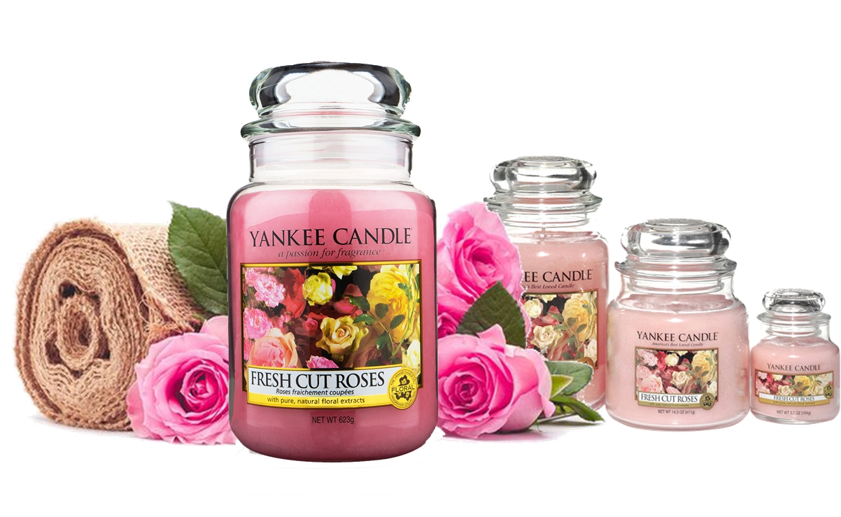 Yankee Candles - Fresh Cut Roses