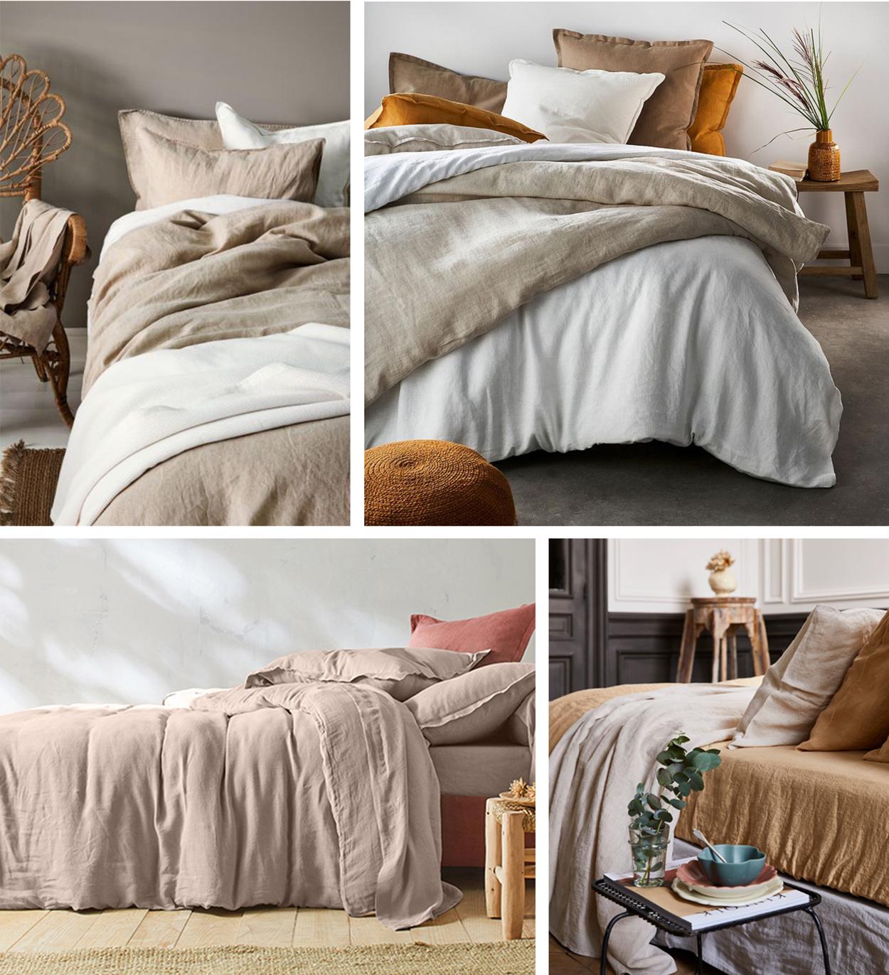 ou trouver du linge de lit en lin lave