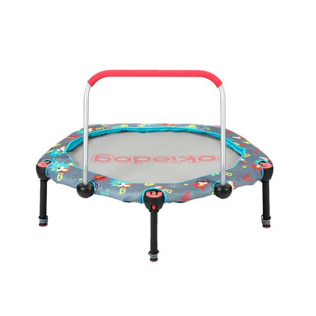 Trampoline Superhero, mainan Playground untuk Si Kecil
