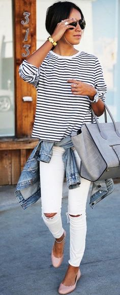 striped-tee-white-jeans