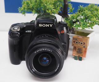 Jual Kamera Sony Alpha A500 Bekas