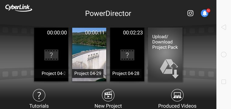 Power director video editing app.