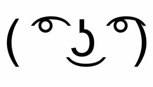 Lenny face text
