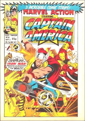 Marvel Action starring Captain America #28, Thor and Iron Man