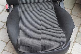 VW Golf GTI seat